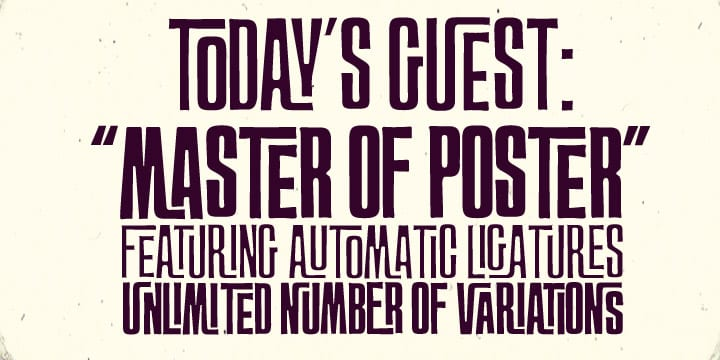 36406 - FT MasterOfPoster (25% discount, from 11,24€)