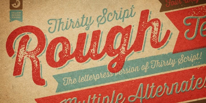 Thirsty Rough (50% discount, complete 27,29€)