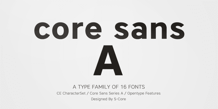 02a942c0155f673452877a15122a850e - Core Sans A (80% discount, from 3€)