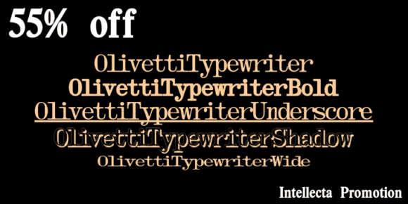 129316 580x290 - Olivetti Typewriter (55% discount, from 10,35€)
