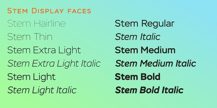 157927 - Stem (70% discount, from 11,70€)