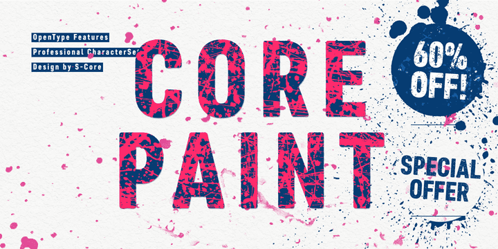 18a0fb2d56ae0179876c6588d02dd9c0 - Core Paint (60% discount, from 6,40€)