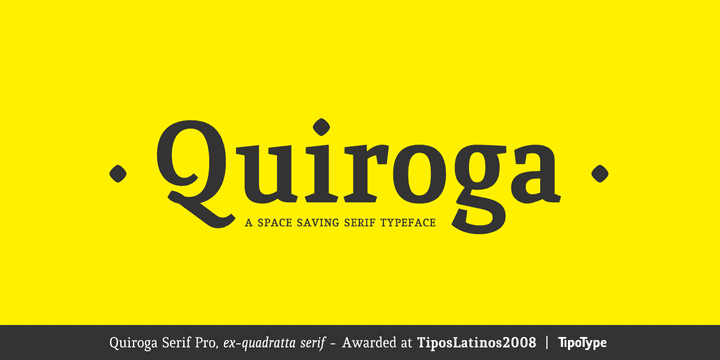 8a402e4029f74280bd41fa6cb5da4c6a - Quiroga Serif Pro (65% discount, family 42,70€)