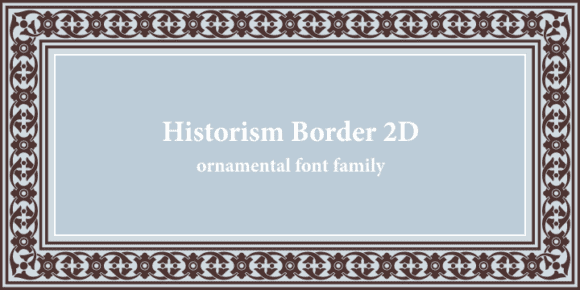 5a5d1fa809beee6a3a813fd71e6d5603 580x290 - Historism Border 2D (30% discount, from 20,29€)