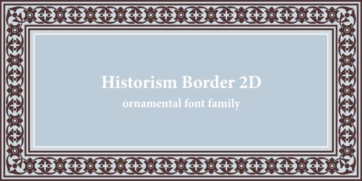 5a5d1fa809beee6a3a813fd71e6d5603 - Historism Border 2D (30% discount, from 20,29€)