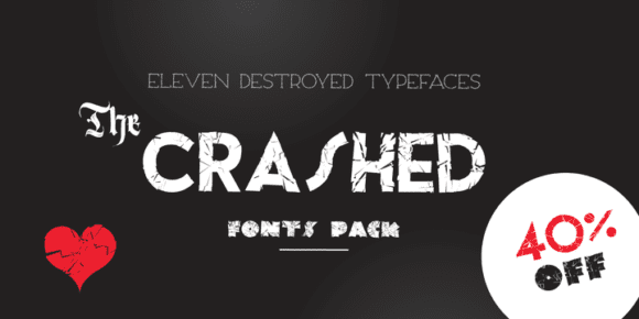 cfe2a5c74c89ec8dd226a5aa24048563 580x290 - The Crashed Fonts (40% discount, from 21,60€)