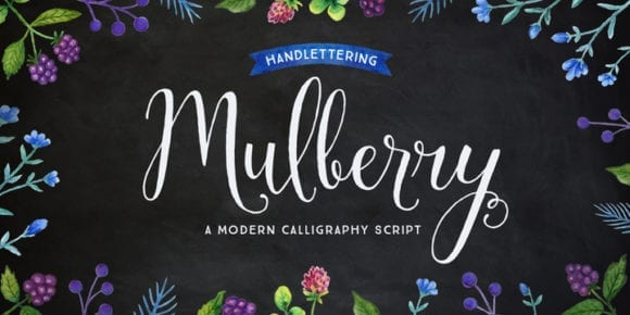 3d1e2fce5be7df97b9dbb7f47e58c1ca 580x290 - Mulberry Script (50% discount, from 3€)