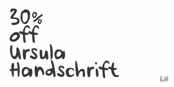 d2bd0e311a73f6566f688138debc6cb8 580x290 - Ursula Handschrift (30% discount, 15,39€)