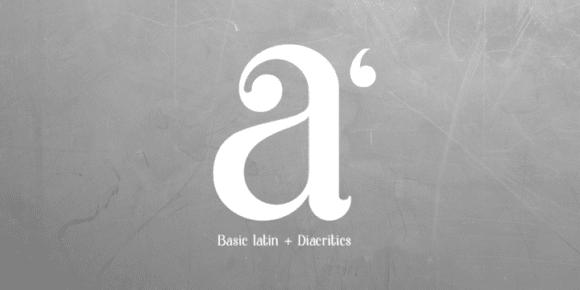 Basic Latin/English letters