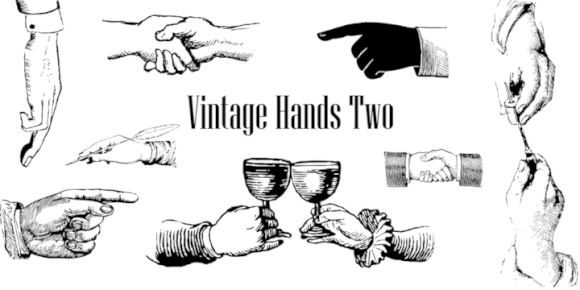73ccdf35ef6a04e9392b6040c4c4b415 580x290 - Vintage Hands (90% discount, from 1,30€)