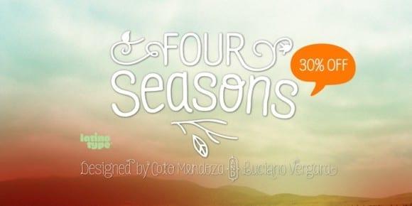 5ee8f14c76f07d0e7f93491ed31ac8ca 580x290 - Four Seasons (50% discount, family 63,50€)