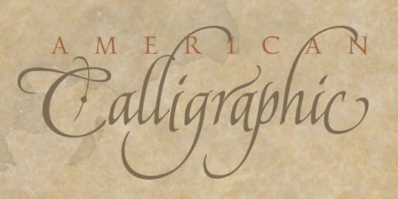 cfe66e41d184615014c5e3c98ef1d7a7 580x290 - American Calligraphic (25% discount, from 5,99€)