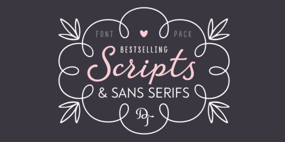 e7ba4e0bddae3c55d4253387b41a76f4 580x290 - The Best of DearType's Scripts & Sans Serifs