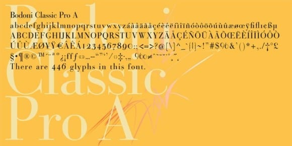 6357ee838eb79a5ef71555aaba4bd868 580x290 - Bodoni Classic Pro (50% discount, from 0,50€)